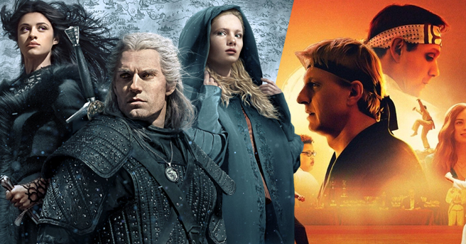 'The Witcher', 'You' and 'Cobra Kai'